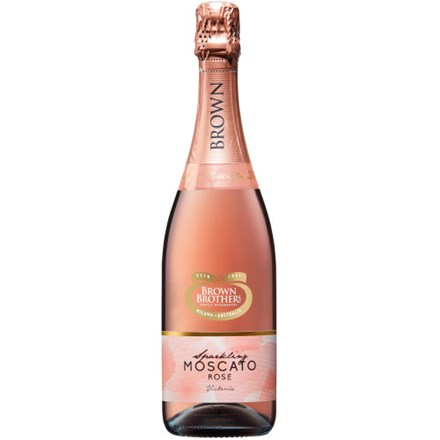BROWN BROTHERS SPARKLING MOSCATO ROSE BROWN BROTHERS SPARKLING MOSCATO ROSE