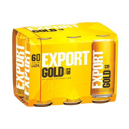 EXPORT GOLD 6*440ML CANS EXPORT GOLD 6*440ML CANS