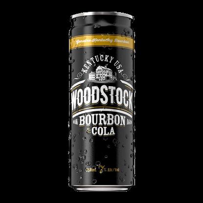 WOODSTOCK 7% 250ML 4PK CANS WOODSTOCK 7% 250ML 4PK CANS