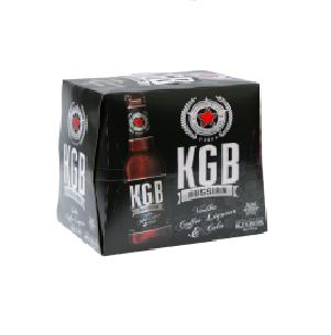 KGB black Russian 5%, 12*275 ML Bottles KGB black Russian 5%, 12*275 ML Bottles