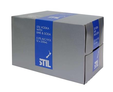 Stil 7% 12 pack, 250ml cans Stil 7% 12 pack, 250ml cans