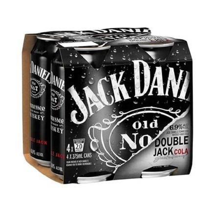 JACK DANIEL DOUBLE JACK 6.9%, 4*330ML CANS JACK DANIEL DOUBLE JACK 6.9%, 4*330ML CANS