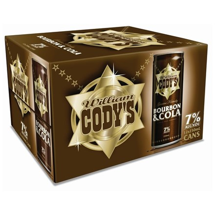 CODYS 7% 12PK 250ML CANS CODYS 7% 12 PK 250 ML
